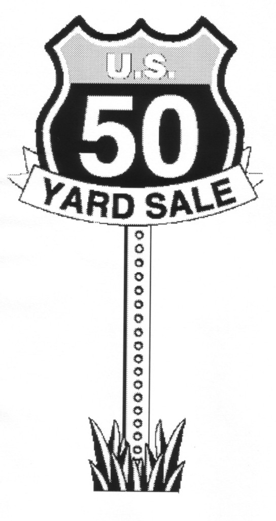A Coast to Coast Yard Sale